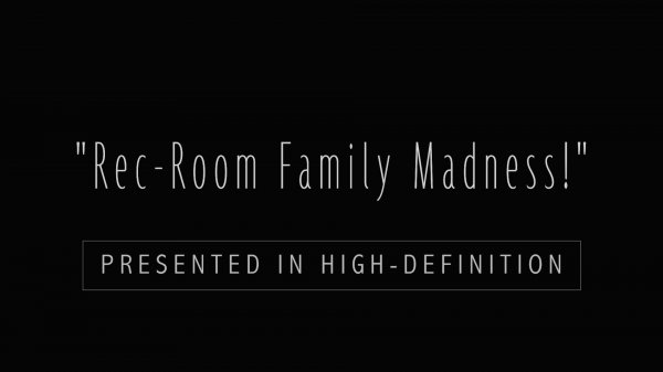 Rec-Room Family Madness! HD (family nudism, family naturism, young naturism, naked girls, naked boys)